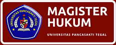 Magister Hukum | Universitas Pancasakti Tegal
